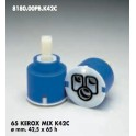 CARTUCCIA PER MISCELATORE 65 KEROX MIX K42C  MM.42.5X65h