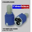 CARTUCCIA PER MISCELATORE 144 KEROX MIX K25MH MM.25X52.5H