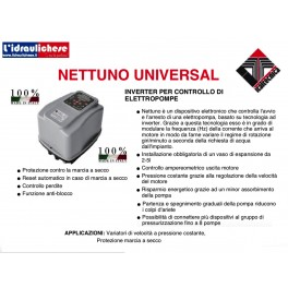 NETTUNO UNIVERSAL INVERTER 230/380 ITALTECNICA MADE IN ITALY