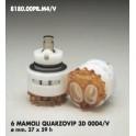 CARTUCCIA PER MISCELATORE 6 MAMOLI QUARZOVIP 3D 0004/V MM.37X59h