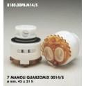 CARTUCCIA PER MISCELATORE 7 MAMOLI QUARZOMIX 0014/S MM.45X51h
