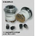 CARTUCCIA PER MISCELATORE 11 ZUCCHETTI R 9733P MM.38.5X60h