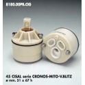CARTUCCIA PER MISCELATORE 45 CISAL SERIE CRONOS-MITO-V.BLITZ  MM.51X67h