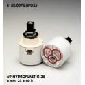 CARTUCCIA PER MISCELATORE 69 HYDROPLAST G 35  MM.35X60h