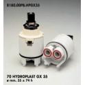 CARTUCCIA PER MISCELATORE 70 HYDROPLAST GX 35  MM.35X74h