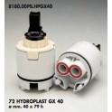 CARTUCCIA PER MISCELATORE 72 HYDROPLAST GX 40  MM.40X79h