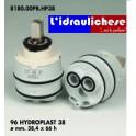 CARTUCCIA PER MISCELATORE 96 HYDROPLAST 38 MM.38.4X66h