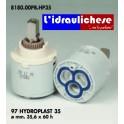 CARTUCCIA PER MISCELATORE 97 HYDROPLAST 35 MM.35.6X60h