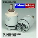 CARTUCCIA PER MISCELATORE 98 HYDROPLAST BX35 MM.35.6X75h