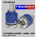 CARTUCCIA PER MISCELATORE 105 TEOREMA AZZURROLAVABO-BIDET MM.39.5X79 H