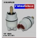 CARTUCCIA PER MISCELATORE 107 ORAS MM.40X88 H