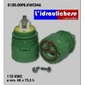CARTUCCIA PER MISCELATORE 110 KWC  MM.48X75,5 H
