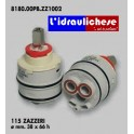 CARTUCCIA PER MISCELATORE 115 ZAZZERI MM.38X66 H