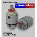 CARTUCCIA PER MISCELATORE 117 ZAZZERI MM.35.5X71.5 H