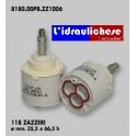 CARTUCCIA PER MISCELATORE 118 ZAZZERI MM.35.5X66.5 H