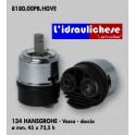 CARTUCCIA PER MISCELATORE 134 HANSGROHE-VASCA-DOCCIAMM.45X72.5H