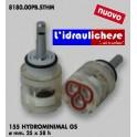 CARTUCCIA PER MISCELATORE 155 HYDROMINIMAL GS MM.25X58H