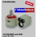 CARTUCCIA PER MISCELATORE 163 DOLOMITE SERIE BASE MM.40X58H