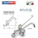 RIVER RUBINETTO MISCELATORE PER LAVELLI INDUSTRIALI 895 03/2