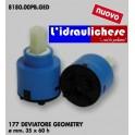 CARTUCCIA PER MISCELATORE 177 DEVIATORE GEOMETRY MM.35X60H