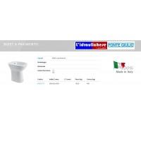 BIDFET PONTE GIULIO CASUAL SCARICO B40CIC11