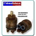 CARTUCCIA PER MISCELATORE 205 DEVIATRICE MM.35X67h
