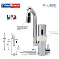 RIVER RUBINETTO MISCELATORE  ELETTRONICO DA LAVELLO E2111