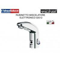 Miscelatore Elettronico a fotocellula IDRAL per lavabo 02512