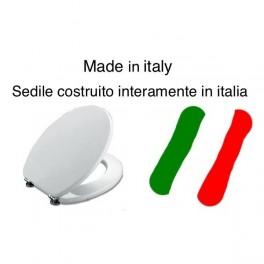 SEDILE MADE IN ITALY PESANTE IN MDS BIANCO POZZI GINORI-NON ORIGINALE-MONTEBIANCO