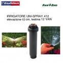 IRRIGATORE RAIN-BIRD SPRY US 410 CM.10 CON TESTINA REGOLABILE 0-360° 12-VAN
