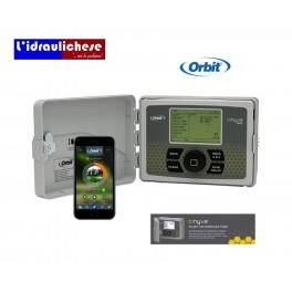 PROGRAMMATORE Orbit 94546 - 6 Stazioni B-Hyve Timer WiFi Intelligente Per Sistema Di Irrigazione