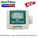 Nuovo programmatore 4 stazioni a batteria Rain Bird WPX4, sostituisce il vecchio modello WP4 che esce di produzione.