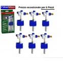 Rubinetto galleggiante fluidmaster 3/8 attacco laterale OFFERTA PER 6 PEZZI
