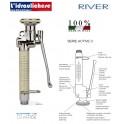 RIVER doccia lavastoviglie in ottone cromato 800/2000/3