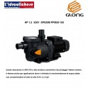 Elettropompa centrifughe autoadescante GLONG  per ricircolo Piscina hp.1,5 220v