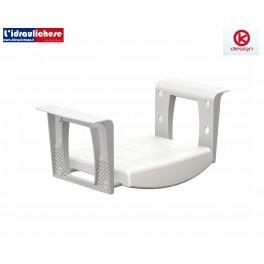 Sedile morbido da vasca K Design 452,5x113,5x509 mm
