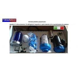 kit salva caldaia Composto da :dosatore a polifosfato+devangatore magnetico e neutrallizzatore di condensa