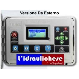 PROGRAMMATORE Di ultima generazione TORO EVO-4OD-EU VERSIONE DA ESTERNO Espansione Da 4 a 16 settori modulari