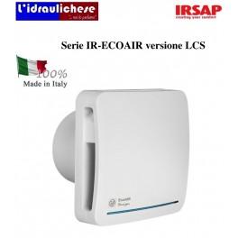IRSAP Ventilatore di estrazione puntiforme autoregolabile Serie IR-ECOAIR versione LCS
