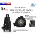 POMPA A IMMERSIONE DRENO TRITURATRICE GM(S)B50/2/110 C.149/G 230V/50Hz