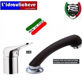 MIXER PER ACCONCIATORE REMER completo con doccia estraibile