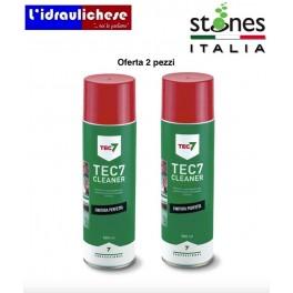 Tec 7 Cleaner Stones offerta due pezzi Pulitore e sgrassante universale ml.500