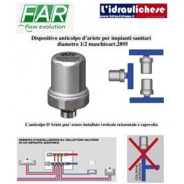 Dispositivo anticolpo d'ariete Far art.2895  1/2 M per impianti