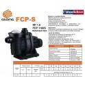 Elettropompa centrifughe autoadescante GLONG FCP1100S  per ricircolo Piscina hp.1,5 220v
