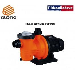 Elettropompa centrifughe autoadescante GLONG  per ricircolo Piscina hp.0,5 220v