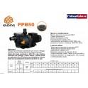 Elettropompa centrifughe autoadescante GLONG  per ricircolo Piscina hp.1,5 380v Ideale per acque Salmastre 0,4%