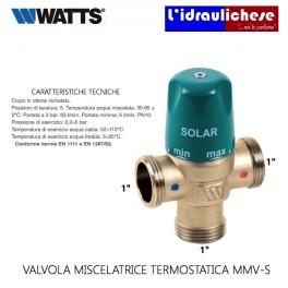 "MISCELATORE TERMOSTATICO WATTS DIAMETRO 1"" MMV SOLAR 97560"