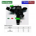 "Irrigatore a battente Settoriale IRRITEC CP27  Diametro 1/2""M"