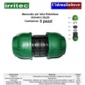 Manicotto IRRITEC 20x20 Confezione 5 Pezzi