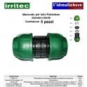 Manicotto IRRITEC 25x25 Confezione 5 Pezzi
